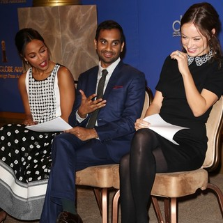 Zoe Saldana, Aziz Ansari, Olivia Wilde in 71st Annual Golden Globe Awards Nominations Announcement