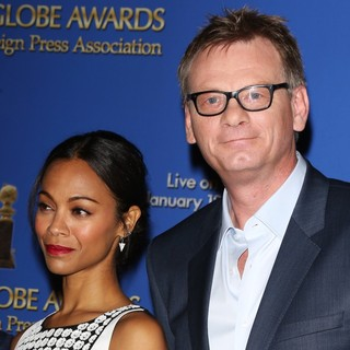 Zoe Saldana, Theo Kingma in 71st Annual Golden Globe Awards Nominations Announcement
