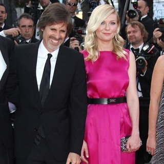 Walter Salles, Kirsten Dunst in On the Road Premiere - During The 65th Cannes Film Festival