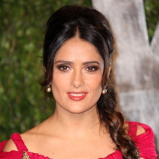 Salma Hayek in 2012 Vanity Fair Oscar Party - Arrivals