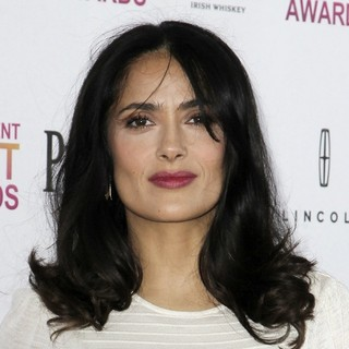 Salma Hayek in 2013 Film Independent Spirit Awards - Arrivals