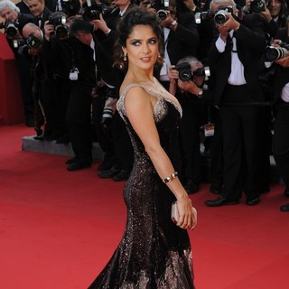Salma Hayek in Madagascar 3: Europe's Most Wanted Premiere- During The 65th Cannes Film Festival