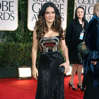 Salma Hayek in The 69th Annual Golden Globe Awards - Arrivals