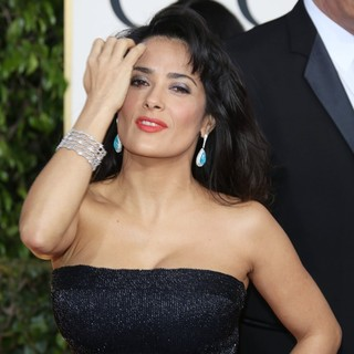 Salma Hayek in 70th Annual Golden Globe Awards - Arrivals