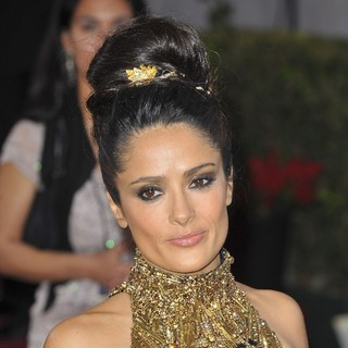 Salma Hayek in The 85th Annual Oscars - Red Carpet Arrivals