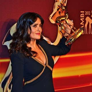 Salma Hayek in Bambi Awards 2012