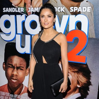 Salma Hayek in New York Premiere of Grown Ups 2