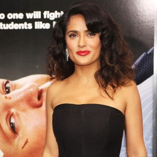 Salma Hayek in Here Comes the Boom New York Premiere