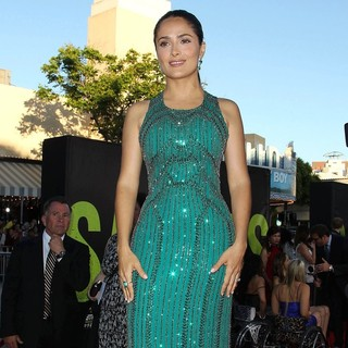 Salma Hayek in The Premiere of Savages