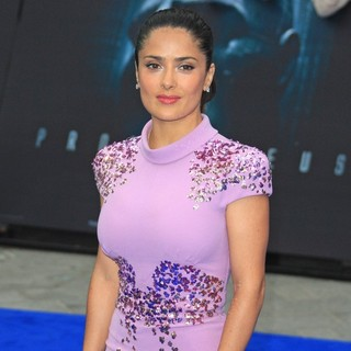 Salma Hayek in Prometheus UK Film Premiere - Arrivals