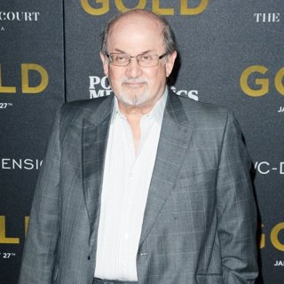 Salman Rushdie-World Premiere of Gold - Red Carpet Arrivals