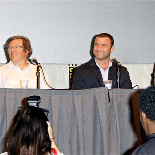 Angelina Jolie, Liev Schreiber, Phillip Noyce in Promoting The New Film 'Salt' at Comic Con 2010