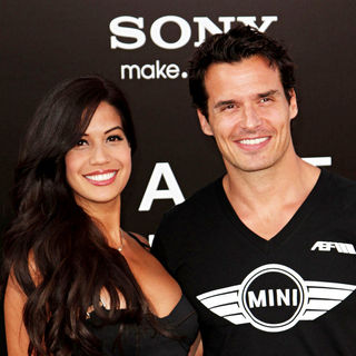 Cheryl Moana Marie, Antonio Sabato Jr. in The L.A. Movie Premiere of 'Salt' - Arrivals