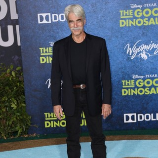 Sam Elliott in Los Angeles Premiere of The Good Dinosaur - Arrivals