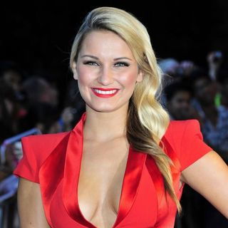 Sam Faiers in The UK Premiere of Transformers Dark of the Moon