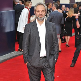 Sam Mendes in Charlie and The Chocolate Factory Press Night