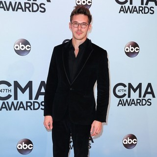 Sam Palladio in 47th Annual CMA Awards - Red Carpet