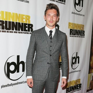 Sam Palladio in Twentieth Century Fox and New Regency Celebrate The World Premiere of Runner, Runner