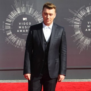Sam Smith in 2014 MTV Video Music Awards - Arrivals