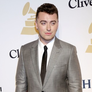 Sam Smith in 2015 Pre-GRAMMY Gala and Salute to Industry Icons with Clive Davis - sam-smith-2015-pre-grammy-gala-02