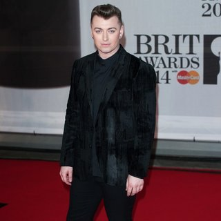 Sam Smith in The Brit Awards 2014 - Arrivals