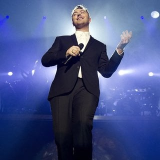 Sam Smith Performing