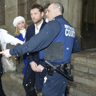 Sam Worthington in Sam Worthington Leaving Manhattan Court