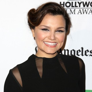 Samantha Barks in 16th Annual Hollywood Film Awards Gala