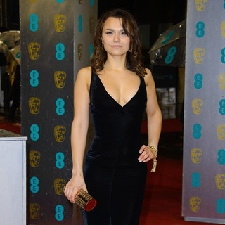 Samantha Barks in The 2013 EE British Academy Film Awards - Arrivals