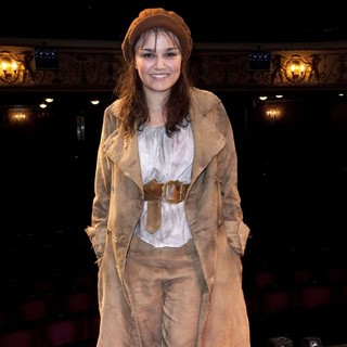 Samantha Barks in The Curtain Call for Les Miserables