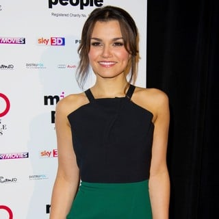 Samantha Barks in The London Critics' Circle Film Awards