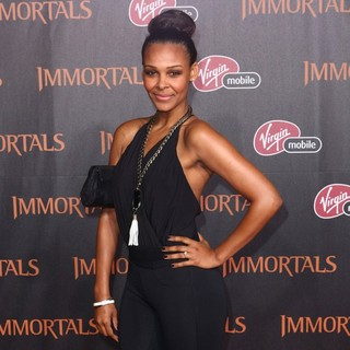 Samantha Mumba in Immortals 3D Los Angeles Premiere