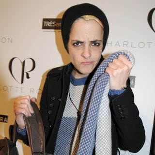 Samantha Ronson in Mercedes-Benz Fashion Week Fall 2012 - Charlotte Ronson - Backstage