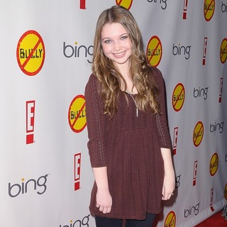 Sammi Hanratty in Los Angeles Premiere of Bully