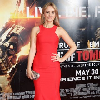 Sammy Winward in World Premiere of Edge of Tomorrow - Arrivals