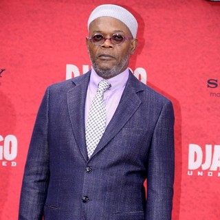 Samuel L. Jackson in The German Premiere of Django Unchained
