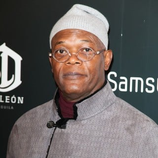 Samuel L. Jackson in The Premiere of Django Unchained