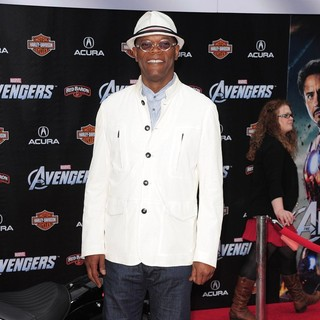 Samuel L. Jackson in World Premiere of The Avengers - Arrivals