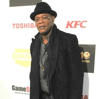 Samuel L. Jackson in Spike TV's 10th Annual Video Game Awards