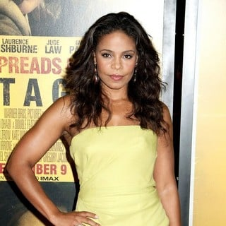 Sanaa Lathan in New York Premiere of Contagion - Arrivals