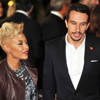 Emeli Sande, Adam Gouraguine in World Premiere of Skyfall - Arrivals