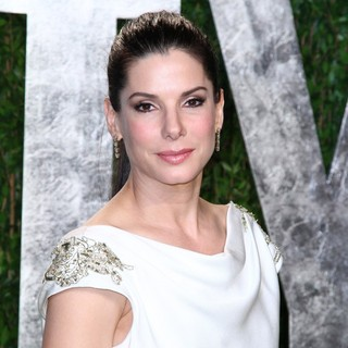 Sandra Bullock in 2012 Vanity Fair Oscar Party - Arrivals
