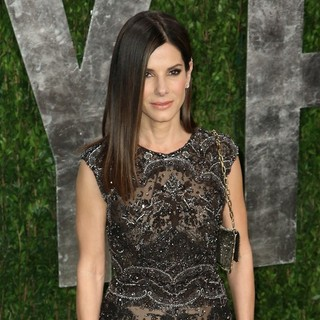 Sandra Bullock in 2013 Vanity Fair Oscar Party - Arrivals