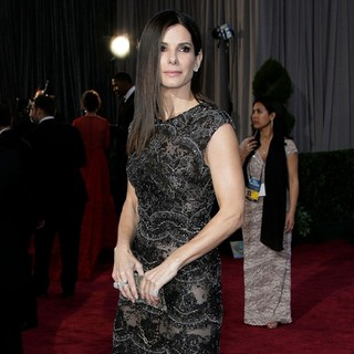 Sandra Bullock in The 85th Annual Oscars - Red Carpet Arrivals