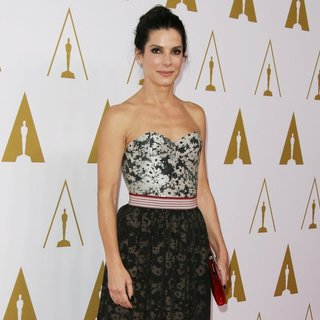 Sandra Bullock in The 86th Oscars Nominees Luncheon - Arrivals
