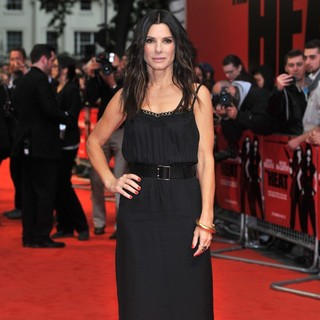 Sandra Bullock in U.K. Film Premiere of The Heat - Arrivals