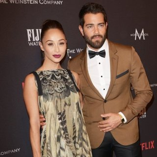 Cara Santana, Jesse Metcalfe in The 2017 Weinstein Company and Netflix Golden Globes After Party