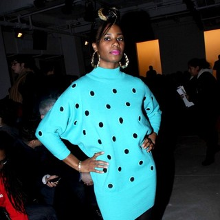 Santigold in Mercedes-Benz IMG New York Fashion Week - Jeremy Scott - Front Row - santigold-new-york-fashion-week-02