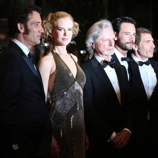 Clive Owen, Nicole Kidman, Philip Kaufman, Rodrigo Santoro in Hemingway and Gellhorn Premiere - During The 65th Annual Cannes Film Festival