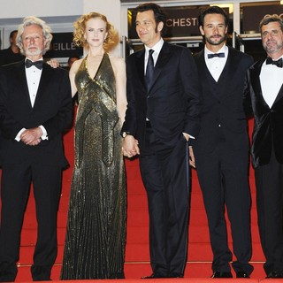 Philip Kaufman, Nicole Kidman, Clive Owen, Rodrigo Santoro in Hemingway and Gellhorn Premiere - During The 65th Annual Cannes Film Festival